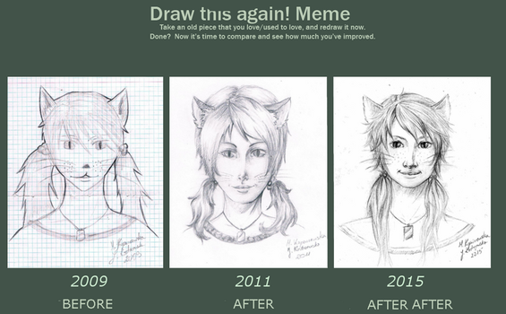 Meme before and after - collab edition! by Vicdin