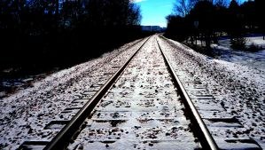 Train tracks by schnestu000