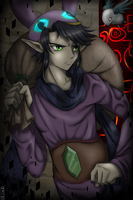 Twilight Princess Ravio (A link Between Worlds) by Sammichan35
