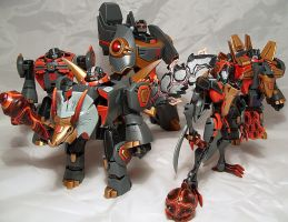 Animated Dinobots robot by Spurt-Reynolds