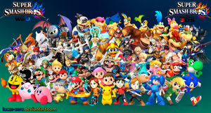 Super Smash Bros 4 Wallpaper by Lucas-Zero
