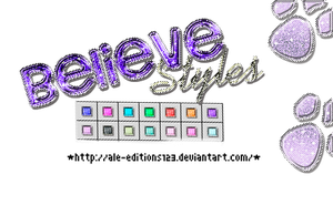 +Believe|STYLES|. by Ale-Editions123