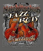 Jazz and RnB festival BACK TEE DESIGN by Bmart333
