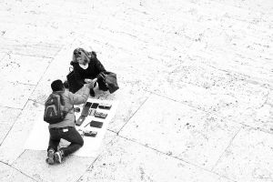On the Spanish Steps I by LPeregrinus