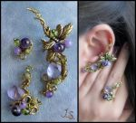 Spring dusk set by JSjewelry