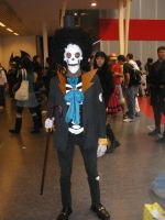 Brook One Piece Romics 2008 by axel91
