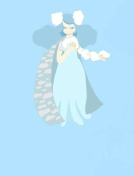 cloud lady by callalily57