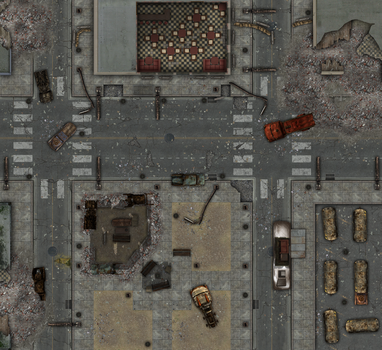 Fallout d20 - Oakley Catering sector - day by Altegore