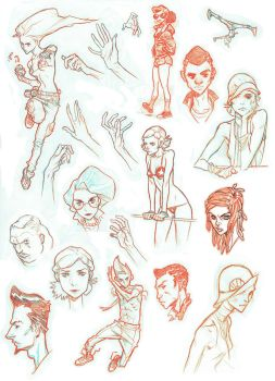 20150321 Sketch Dump by jeffwamester