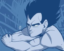 Vegeta Blue by Pinkuh