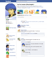 Fin's Facebook (Fin x His fangril) LOL? by AnimaMasterLilina