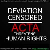Down With ACTA! by OrionPax09