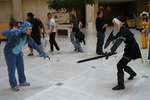 AWA 2011: Stitch vs Dark Link by NBCWerewolf