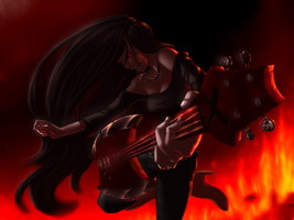 Marceline the Vampire Queen by StephanieRivo