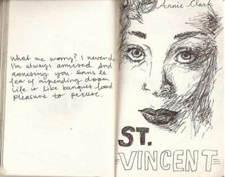 St. Vincent pt. 1 by theparadoxbox