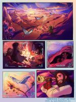 TREASURE PLANET FAN COMIC by Isaia