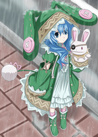 Yoshino Commission 6 Coloring by Planeptune