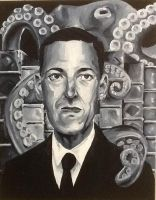 H P Lovecraft by wesers
