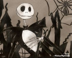 My Jack Skeleton by MakesMeSmile