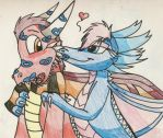 PC: Kisses for Thorn -BX- by dragonpop1