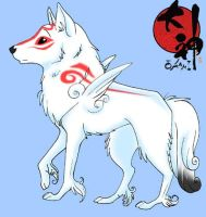 Okami by g0ddess
