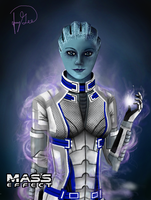 Liara T'Soni (Mass Effect) by General-Mudkip