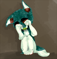 sad doge by fqs