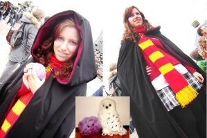 HP7 Ginny costume by CutePinkFluff