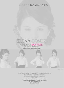 Selena Gomez Render Pack Vol . 1 by M-MooG
