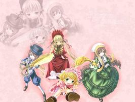 rozen maiden wallpaper by vegistie