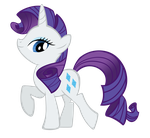Rarity BB FiM colors vexel by Durpy