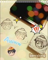 D.I.Y Luffy Stamp by berryjang