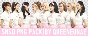 SNSD PNG PACK' by QueenEunAe