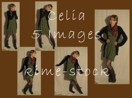 Celia by kime-stock