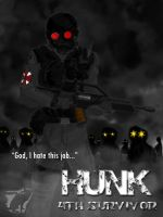 4th Survivor : HUNK by shadowdevil502