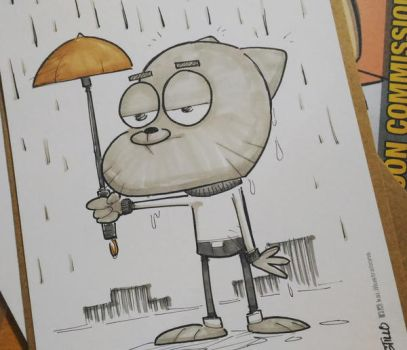 Gumball Commission by kaicastle