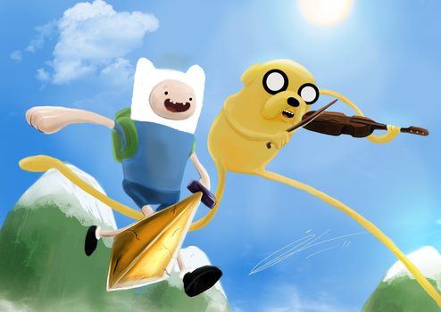 Adventure Time by Jord-UK