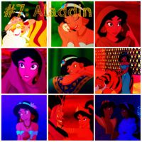Aladdin collage by SweetHea