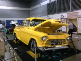 55' Yellow Chevy PickUp A by Eagle07