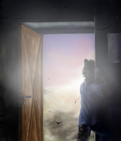 The door into sunset by grayma1k