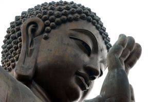 Tian Tan Buddha by AndrewToPhotography
