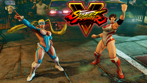 R. Mika is finally back in SFV with her partner! by simpleguyfa