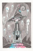 Inktober 2015 Sorting Hat by Natesquatch
