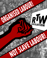Labour's struggle by Party9999999