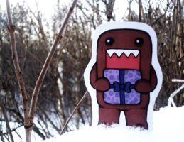 Domo wish you a Merry Christmas by ChocolateWitch