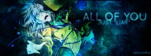 Cover Facebook - All of you just liar by RuScarlet