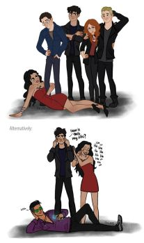 Shadowhunters by ggns
