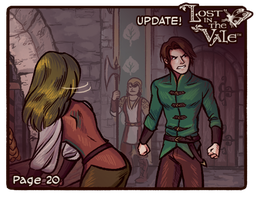 Lost in the Vale - Chapter 1 - Page 20 UP! by CrystalCurtisArt