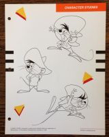 Speedy Gonzales Poses by guibor