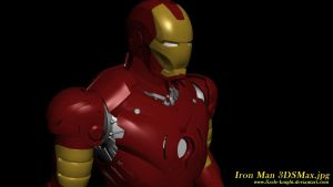 Iron Man Mark III 3DS Max by Fizzle-Knight